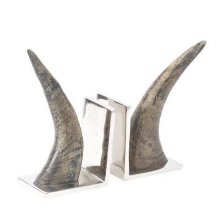 BOWES-HORN-BOOKENDS